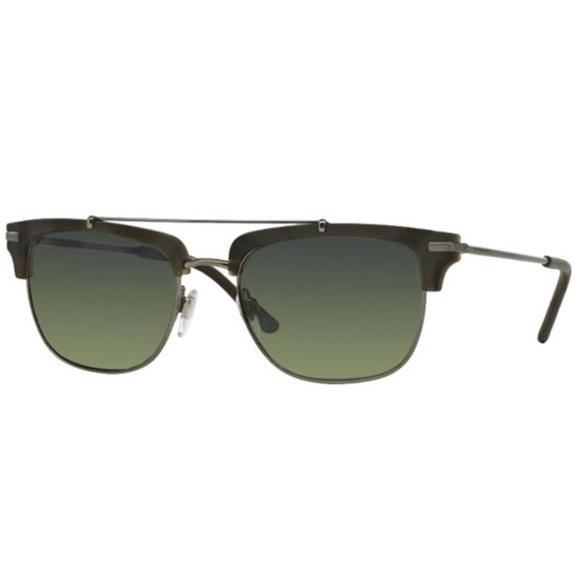Burberry Accessories - Burberry 4202Q 3537/T4 Brushed Gunmetal Sunglasses